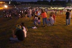 толпы Стоковое фото RF