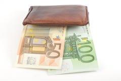 Толщиной бумажник Стоковое фото RF