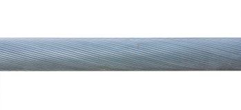 Толщиной переплетенный стальной кабель Стоковые Фотографии RF