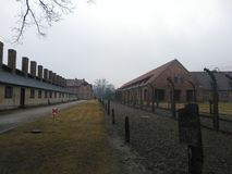 Только Освенцим стоковые изображения rf