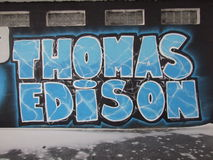 Томас Эдисон Стоковое Изображение