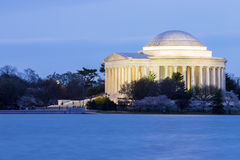 Томас Джефферсон мемориальный Вашингтон, DC Стоковые Изображения RF