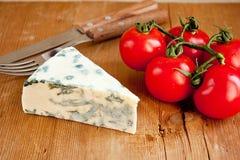 томаты голубого сыра Стоковое фото RF