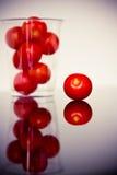 томаты еды свежие здоровые красные Стоковые Фотографии RF