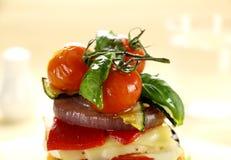 томаты зажаренные в духовке вишней Стоковые Изображения RF