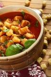 томаты здравицы супа стоковое фото