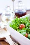 томаты зеленого салата Стоковые Фото