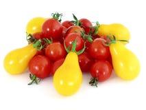 томаты коктеила Стоковые Фото