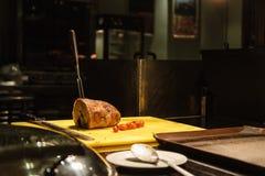 томаты крена мяса обеда, котор курят wedding Стоковое Изображение
