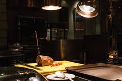 томаты крена мяса обеда, котор курят wedding Стоковое Изображение RF