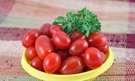 томаты крупного плана Стоковые Фотографии RF