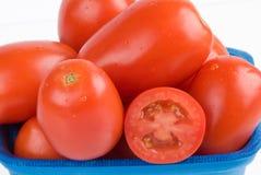 томаты крупного плана Стоковые Изображения RF