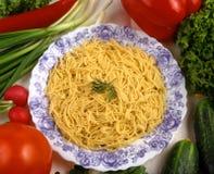 томаты макаронных изделия Стоковые Фотографии RF