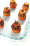 томаты мяса заполненные Стоковые Изображения