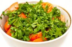 томаты салата зеленых цветов младенца свежие Стоковые Изображения
