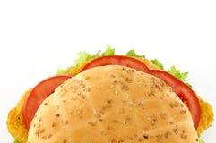 томаты сандвича салата котлеты Стоковые Изображения RF