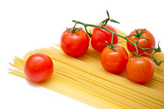 томаты спагетти Стоковое фото RF