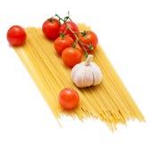 томаты спагетти Стоковые Изображения RF