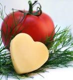 томаты сыра Стоковая Фотография RF