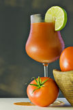 томаты томата сока крупного плана свежие Стоковые Фото