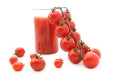 томаты томата сока стоковое изображение rf