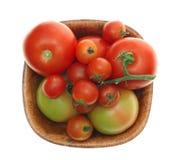томаты стоковое изображение rf
