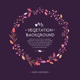 томаты courgettes предпосылки свежие vegetable иллюстрация элементов конструкции выходит вектор иллюстрация штока