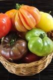 томаты heirloom стоковые изображения