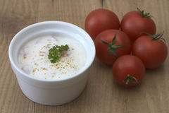 томаты raita Стоковые Изображения