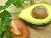 томат авокадоа Стоковые Фото