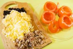 томат вещества салата farci Стоковое фото RF