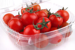 томат вишни коробки Стоковые Фотографии RF