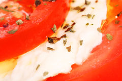 томат еды детали Стоковая Фотография