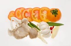 Томат и гриб Стоковые Фото