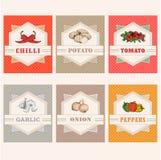 томат, картошка, лук, зябкий, иллюстрация вектора