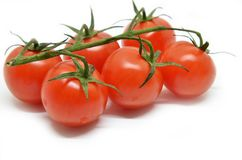 томат красного цвета вишни Стоковые Фото