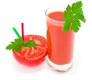 томат красного цвета сока Стоковые Изображения RF