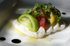 томат лакомки сыра закуски Стоковое Изображение