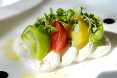 томат лакомки сыра закуски Стоковые Фото