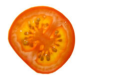 томат ломтика Стоковая Фотография