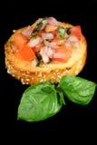 томат лука bruschetta Стоковое фото RF