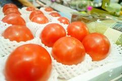 Томат, произведенный в Синьцзян, Китай Стоковые Изображения RF