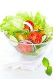 томат салата огурца Стоковое Изображение RF