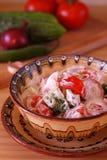 томат салата огурца Стоковые Фотографии RF