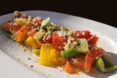 томат салата перца цыпленка колокола Стоковое Изображение