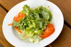 томат салата салата моркови Стоковые Фотографии RF