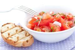 томат салата chives Стоковое Изображение RF