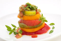 томат салата heirloom стоковое изображение rf