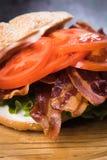 томат сандвича салата бекона Стоковые Изображения RF