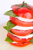 томат салата mozzarella базилика caprese Стоковые Фотографии RF